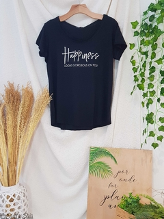 T-shirt Happiness - comprar online