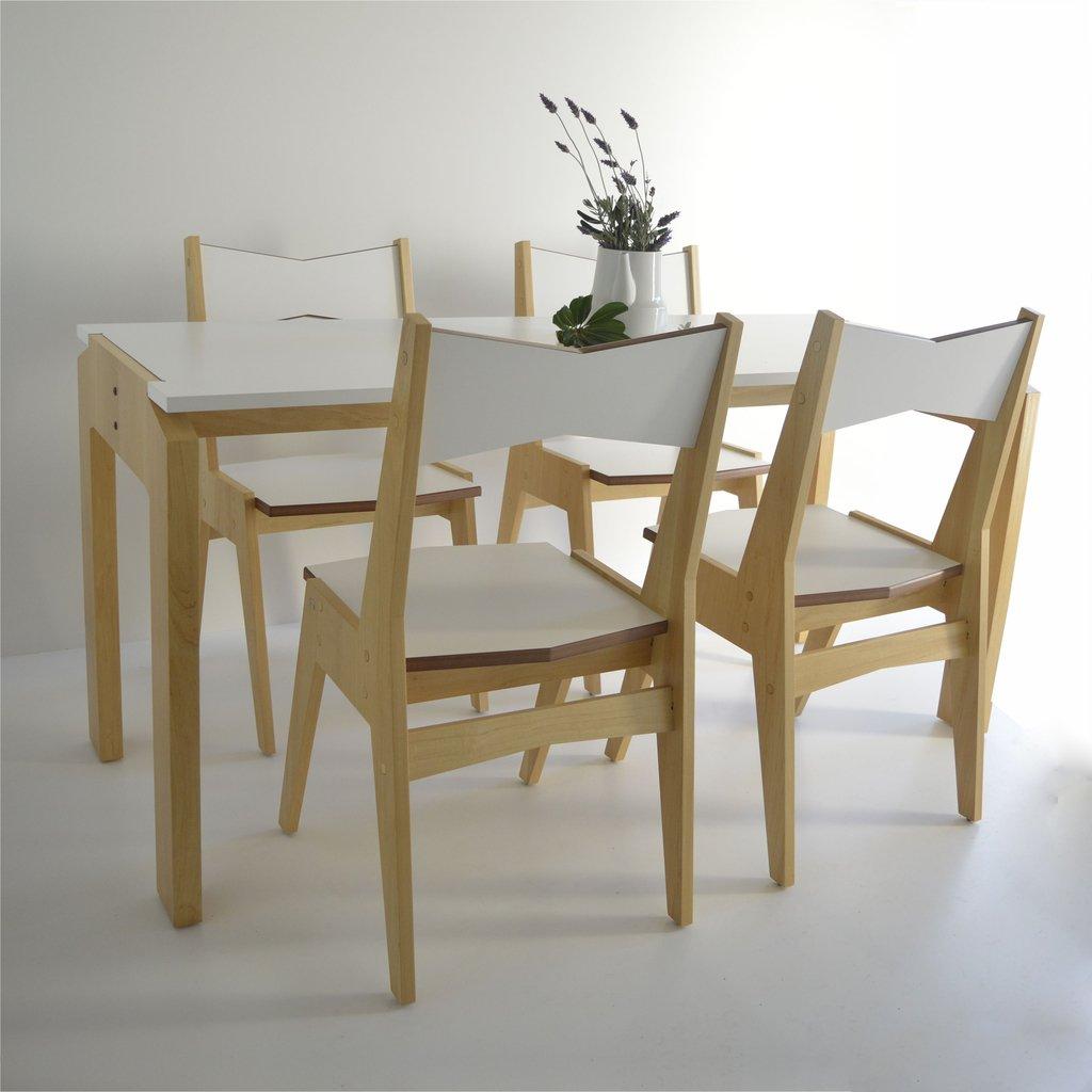Comedor nordico para espacios pequeños
