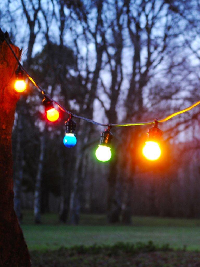 alquiler guirnaldas de luces tipo kermesse - Guirnaldas De Luces