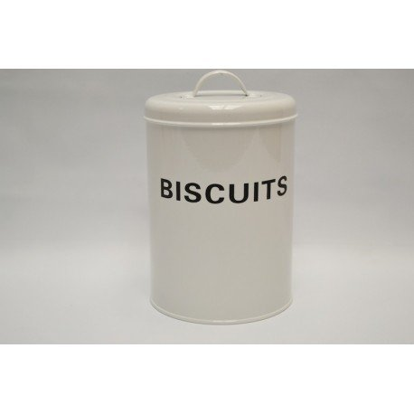 Tarro de Metal Biscuits para Galletas Vintage Kitchen