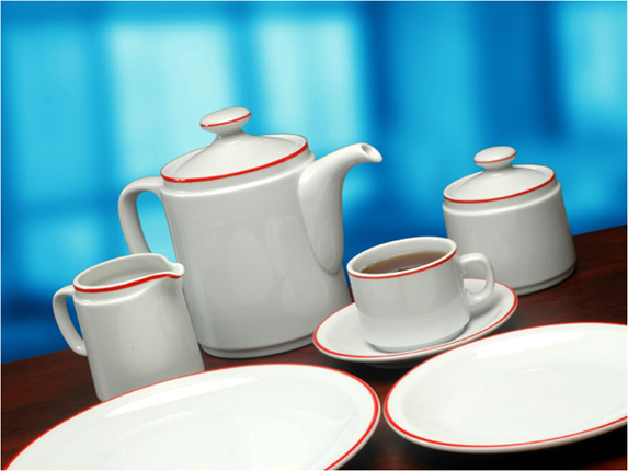 Plato playo 25 cm porcelana tsuji for Platos porcelana