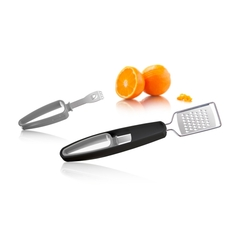 Rallador + Zester para cítricos - Citrus Grater + Zester Tomorrow Kitchen en internet