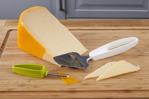 Cortador + pelador de quesos - Cheese Slicer + Rind Peeler Tomorrow Kitchen - Vení a la Cocina