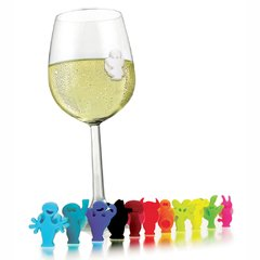 Marcadores de Copas-Glass Markers Party People Vacu Vin