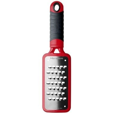 Rallador Extra Grueso 2.0 -Home Series Extra Coarse Grater  Microplane Rojo