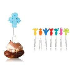 Diferenciadores de bocados para fiestas - Snack markers Party People Tomorrow Kitchen - comprar online