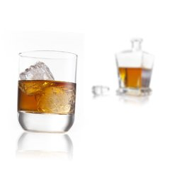 Set 2 vasos para Whisky - Cocktails Glass Rocks Vacu Vin