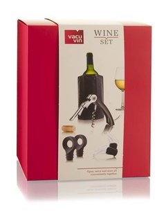 Set  para Vino -Wine Set Starter VacuVin