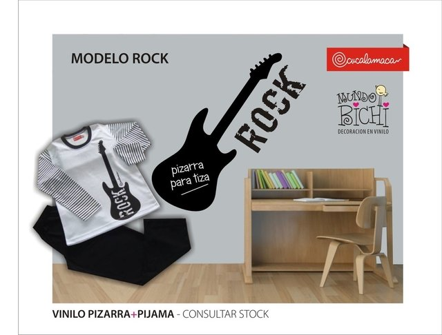 vinilo decorativo rock