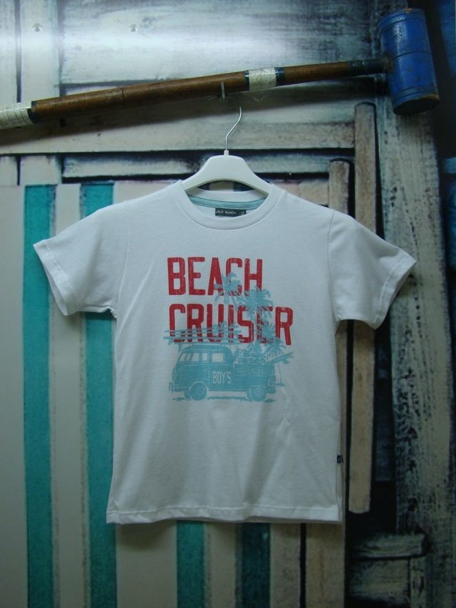 4526040 Remera Estampa Beach