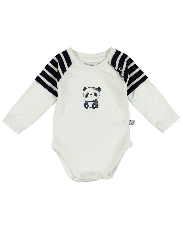 4925020 BODY DOBLE MANGA PANDA BLUE