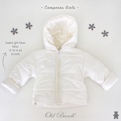 5033008	CAMPERA  GIRLS  BLANCO
