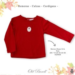 4529005 Remera roses girls