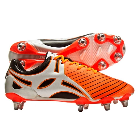 BOTINES DE RUGBY GILBERT EVO MK2 8S ORANGE (873819)