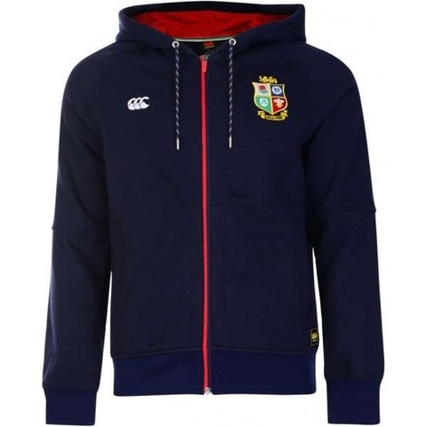 Campera Canterbury British Lions Zip Through Hoody - comprar online