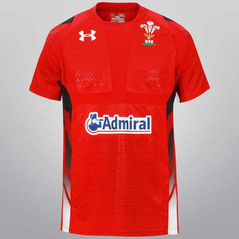 CAMISETA RUGBY UNDER ARMOUR WALLES (CRUAW)