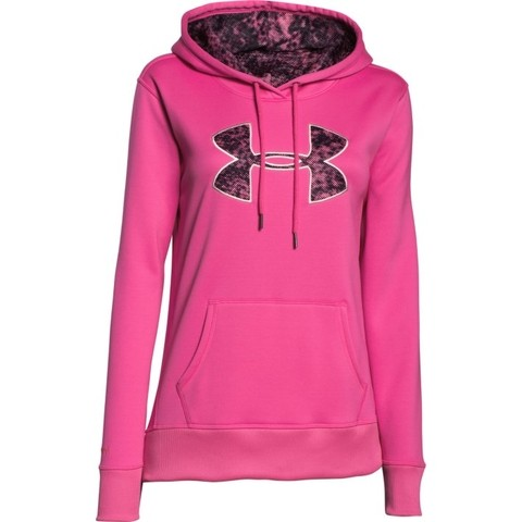 Buzo Under Armour Woman Printed Fill Pink