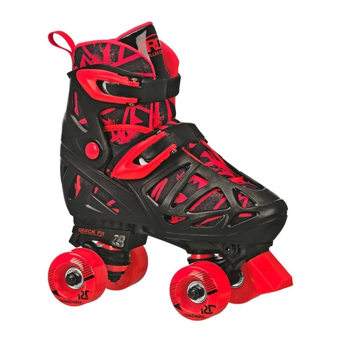 ROLLER TRAC STAR ADJUSTABLE RED/BLACK (RD1372)