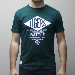 Remera Leicester Tigers Verde