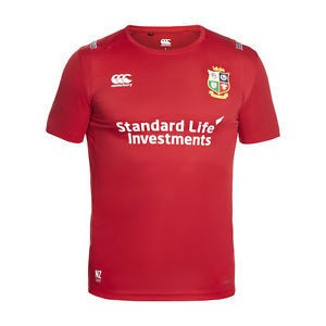 Camiseta Canterbury Superlig Entrenamento British Lions