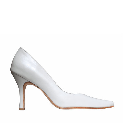 Stilettos color blanco