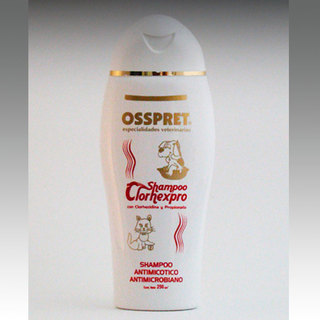 Shampoo Clorhexpro Osspret Antimicotico - Antimicrobiano - Bactericida