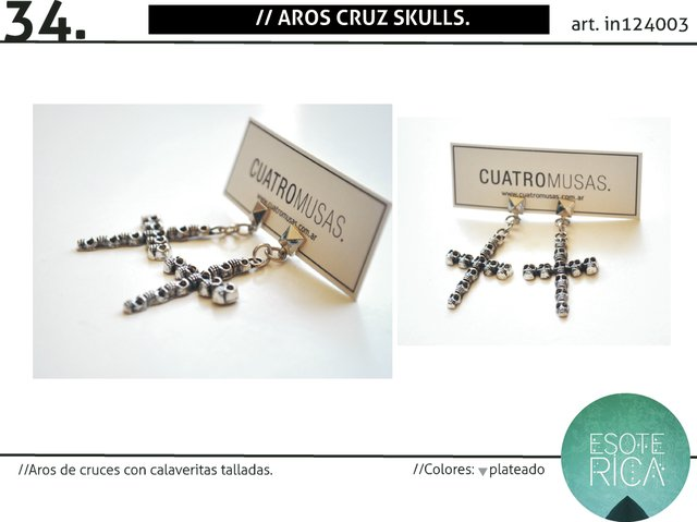 Aros Cruz Skulls SALE!