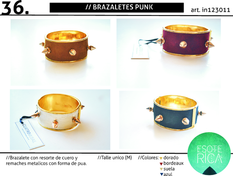 Brazalete Punk SALE!