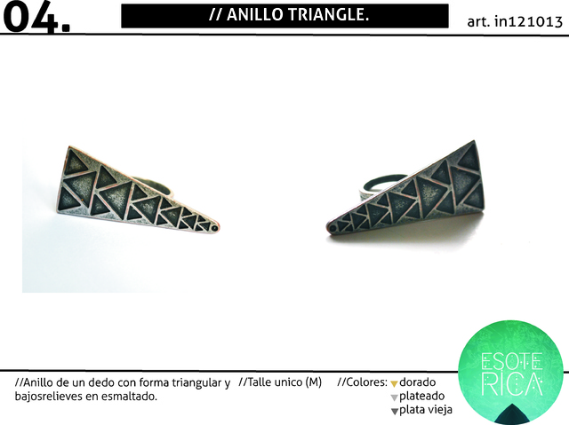 Anillo Triangle - SALE!! - buy online