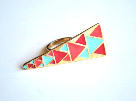 Anillo Triangle Color - SALE!! - comprar online