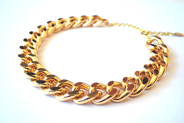 Collar Lime Chain - online store