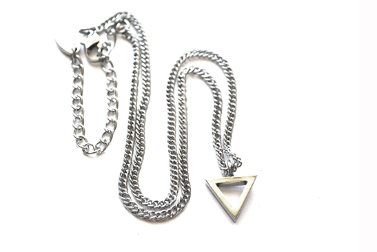 Collar Tiny Triangle