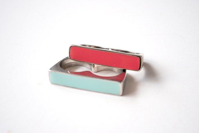 Anillo Coloured Line  - loja online
