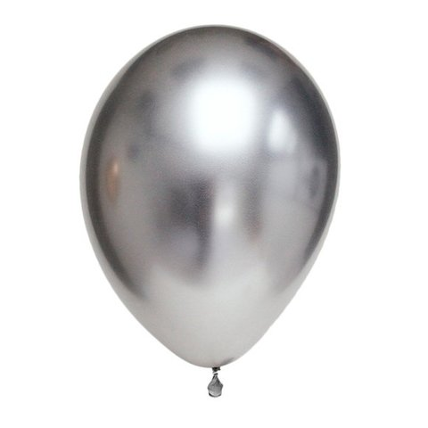 Balão de látex  Metálico Chrome Qualatex