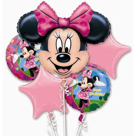 Bouquet Minnie Mouse - Marca Convergram/Anagram