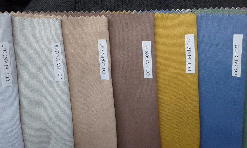 Cortina blackout textil 2 pa os x varios colores - Colores de cortinas ...
