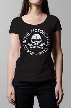 Remera Black Rebel Motorcycle Club negra mujer