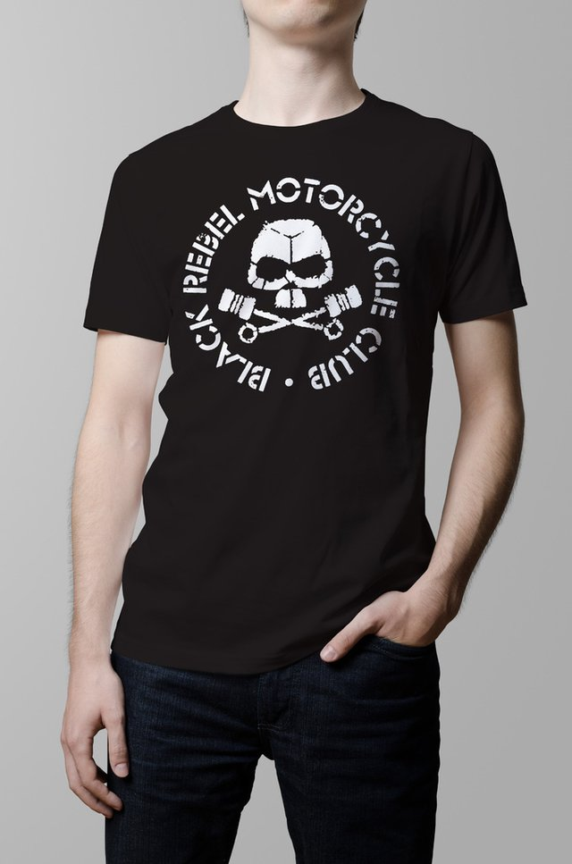 Remera Black Rebel Motorcycle Club negra hombre