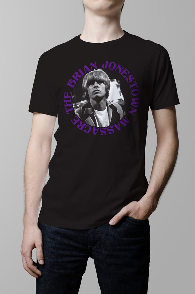 Remera Brian Jonestown Massacre negra hombre