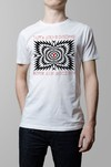 Remera Love and Rockets blanco hombre