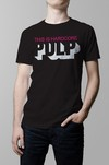 Remera negra Pulp this is hardcore hombre
