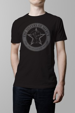 Remera negra Sisters of Mercy hombre