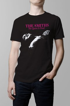 Remera The Smiths the queen is dead hombre