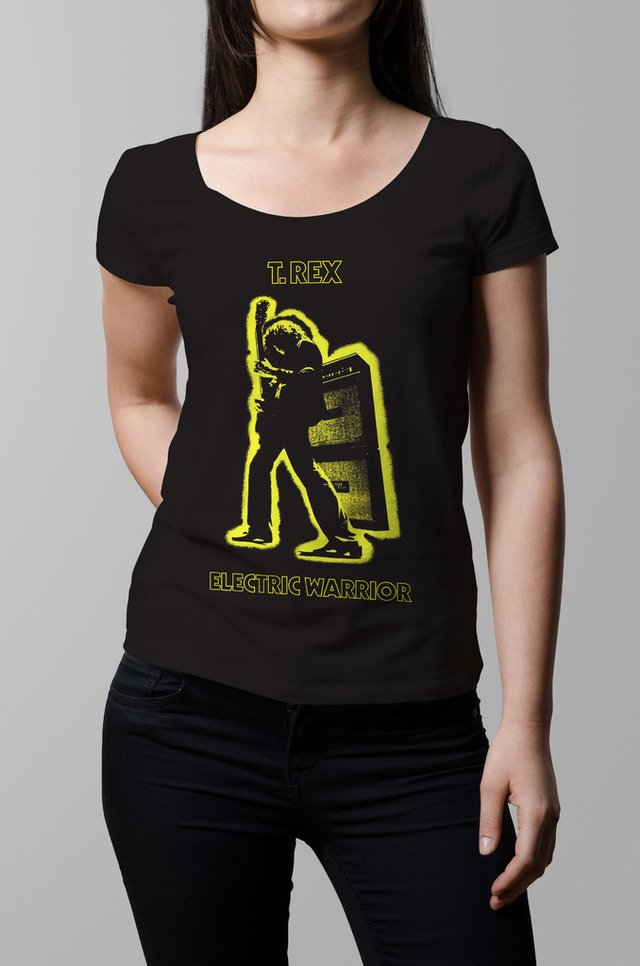 Remera T Rex Electric Warrior mujer