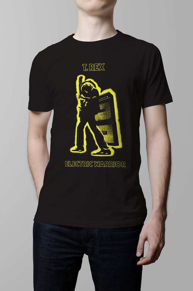Remera T Rex Electric Warrior hombre