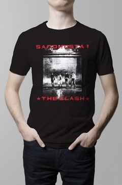 Remera The Clash Sandinista hombre