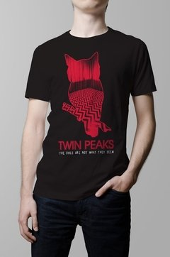 Remera Twin Peaks hombre