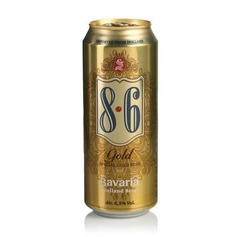 Bavaria 8.6 Gold x500 ml
