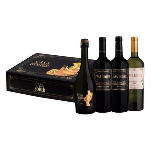 Casa Boher Box Set 4x750 ml