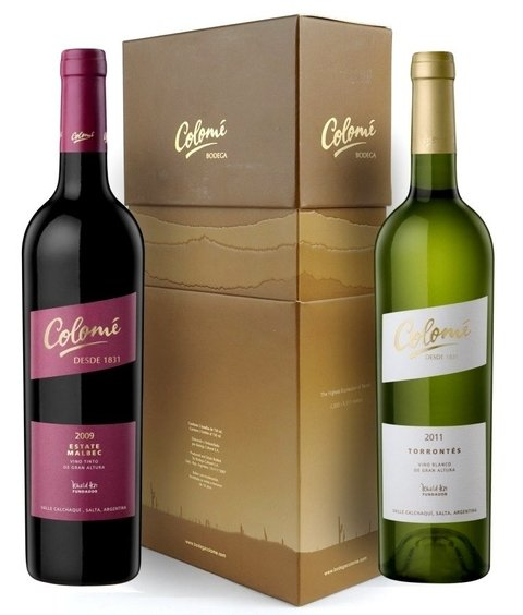 Colomé Estate Malbec + Torrontés estuche 2x750 ml